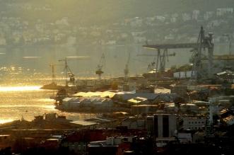 Panorama industrijske Rijeke