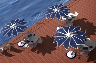 Suncobran sa solarnim panelima jedna je od nagrađenih ideja