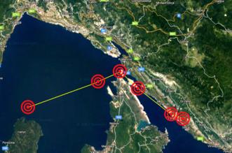 potres rijeka, jadranovo, omišalj, hreljin, crikvenica